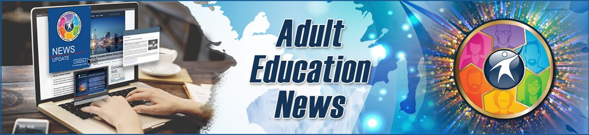 Adult Education News Banner