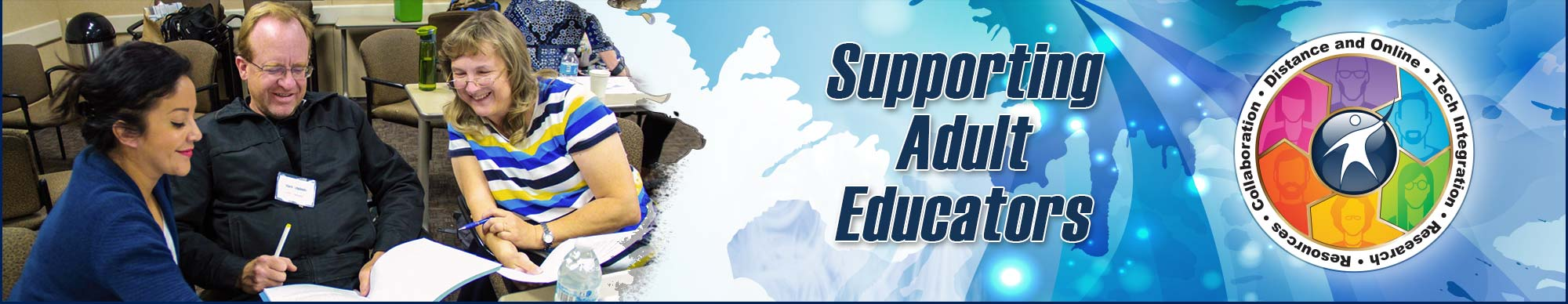 Supporting Adult Educators banner